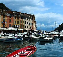 Portofino Harbor  by AndrewWilson94