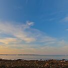 Sunset at Portsmouth by Jean-Pierre Ducondi