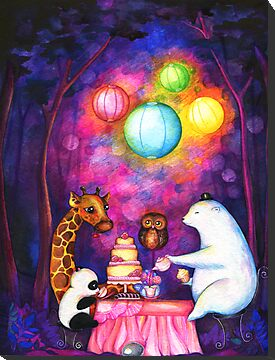 Magical Midnight Tea Party by Annya Kai