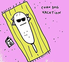 corndog vacation by Ollie Brock