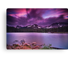 The Last Days Of A July Evening Canvas Print