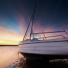 The Blakeney - Sunset by Andy Freer