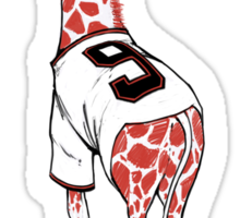 Free Brandon Belt Giraffe Sticker