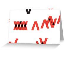 VX Greeting Card