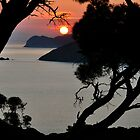 Sunset Capoliveri, Elba by itchingink