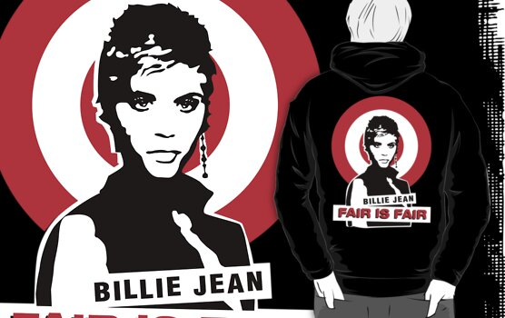 Billie Jean - Fair Is Fair (Dark Background) by DCdesign