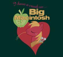 I have a crush on... Big Macintosh - with text by Stinkehund