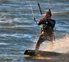 Kitesurfer by Adri  Padmos
