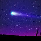 Comet Sighting by Dale O'Dell