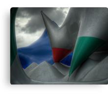 Levity III - external view Canvas Print