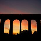 Balcombe Viaduct -Taken Just before Dawn. by Skinbops
