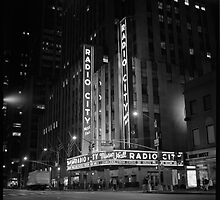 Radio City Music Hall by Randy  Le'Moine
