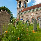 Flowers in West Wycombe Churchyard by DonDavisUK