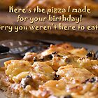 Birthday Pizza by Belinda Osgood