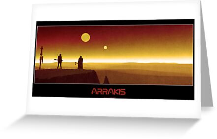 Arrakis by Shane Gallagher