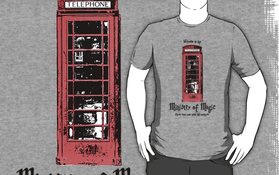 Welcome to the Ministry of Magic by charliebuterfly