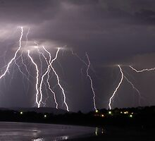 Nature's own fireforks show by Francois Fourie