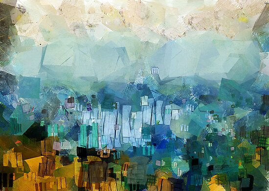 CIty scape by Julien Menet
