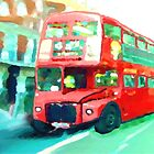 Londonbus by Andrea Meyer
