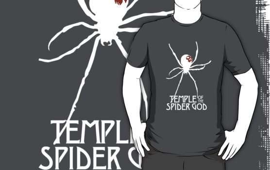Temple of the Spider God (White Spider) by tinmangames