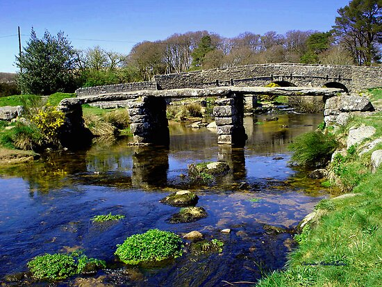 Bridge on Dartmoor by Charmiene Maxwell-batten