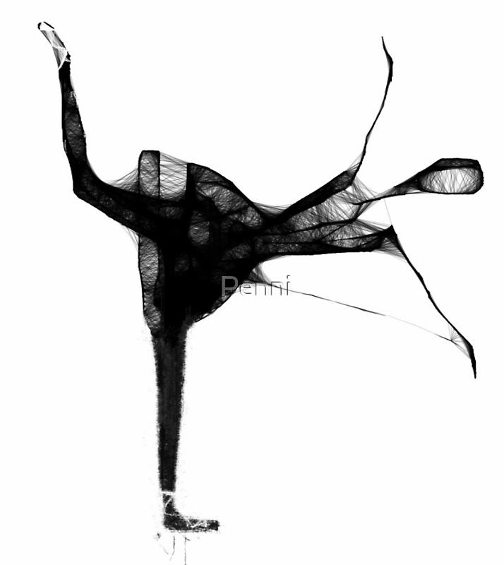 Ballerina by Penny V-P is Exhibiting at the Sala Patriziale, Danzarte Gallery, Switerland, from 5th April to 14th April 2012  by Penny V-P