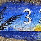 Curbside in California, Blue by paintingsheep