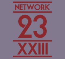 Network 23 Small Red Logo by Christopher Bunye