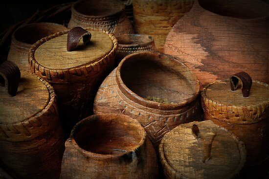 Prehistoric pottery by Javimage