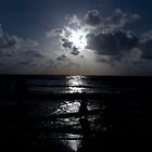 blue sunset mumbai beach by bharatrawail