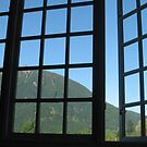 Window to Mt. Si by pallyduck