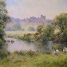 Alnwick Castle, Northumberland by JoeHush