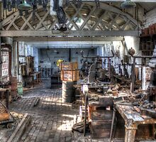 The Workshop circa 1900 by Mark Johnson