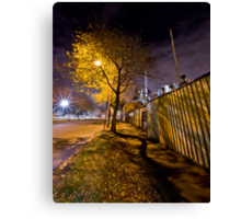 Hudsons Road In Colour Canvas Print