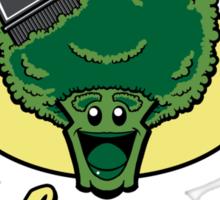 Fresh Picked Broccoli Sticker