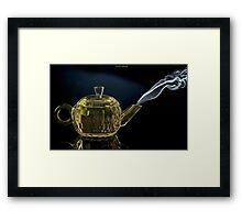 Aladdin's lamp?? Framed Print
