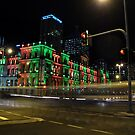 Brisbane by night by footsiephoto