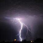 Lightening Strike ~ Marana, AZ by Kimberly Chadwick