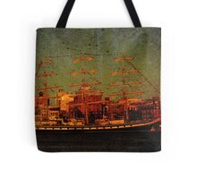 A Day in the Harbour Tote Bag