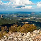 View from Mt Beerwah Peak by BaroqueLover