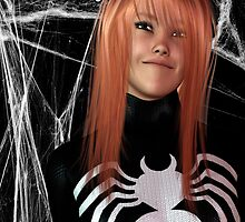 WHAT IF: MARY JANE BECOMES SPIDERWOMAN by Junior Mclean