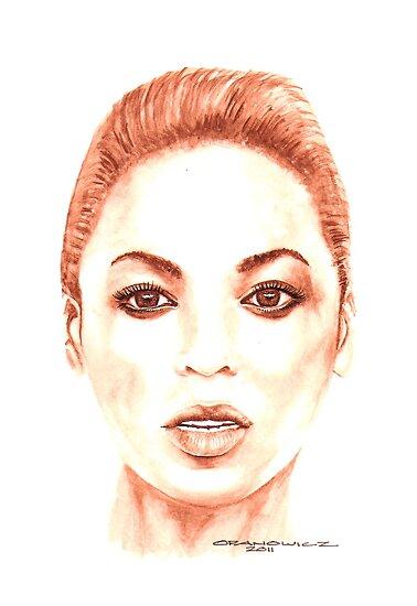 Beyonce by Opanowicz