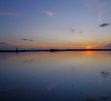 Blue Sky over Breydon by JaimieA