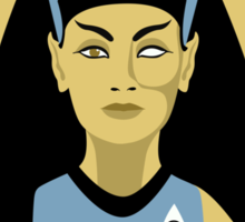 Science Officer Nefertiti Sticker