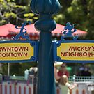 Downtown Toontown or Mickey's Neighborhood? by Rechenmacher