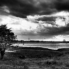 The Swale in duotone by Nigel Jones
