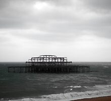 Remains of The West Pier - Brighton by CalumCJL