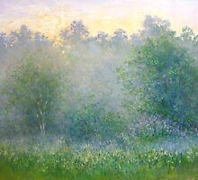 Summer mist by Julia Lesnichy