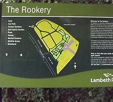The Rookery sign -(120811)- digital photo by paulramnora