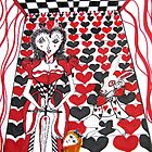 Red Queen of Hearts by SunfluerDesigns